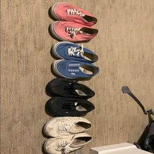 Vans multiple colors